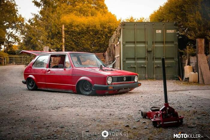 Rat Golf – VW Golf rat style
