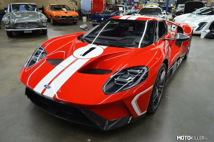Ford GT Heritage Edition –