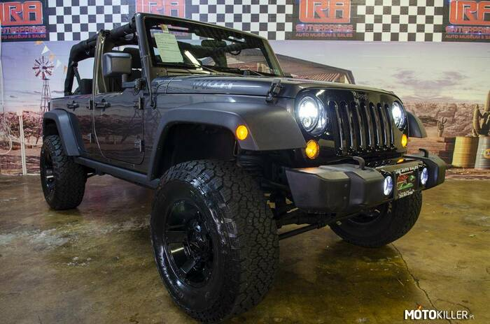 Jeep Wrangler Unlimited –