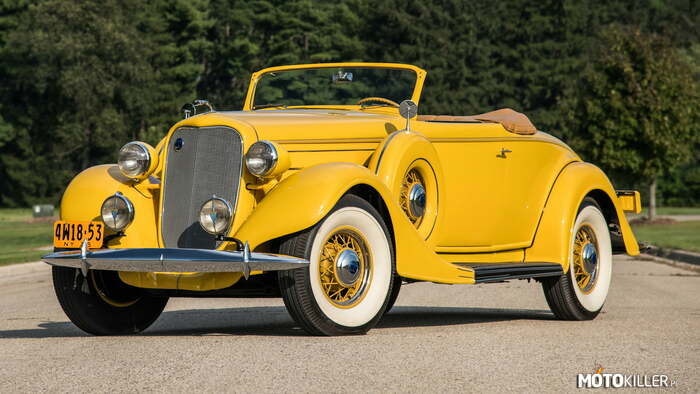 1935 Lincoln K Convertible Roadster –