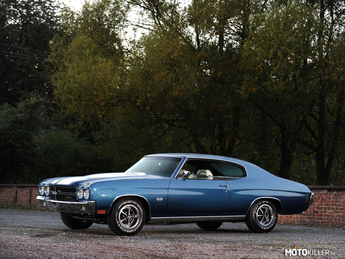 1970 Chevrolet Chevelle SS 396 Hardtop Coupe –